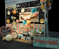 Ninirichi SA Design Studio stand at the wedding expo March 2013 The Coca-Cola dome, Northriding, Johannesburg, South Africa