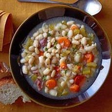 White Bean & Ham Soup Recipe