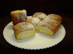 Buchteln alla nutella e alla marmellata (krapfen al forno, non fritti)