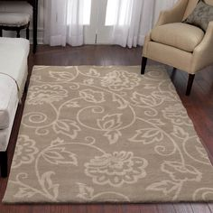 "Carolina Weavers Sherwood Collection Abegail Area Rug 5'3"" x 7'6"""