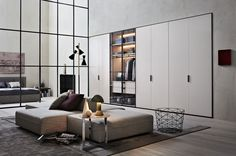 Grip allows solutions with hinged, sliding and flush sliding doors.