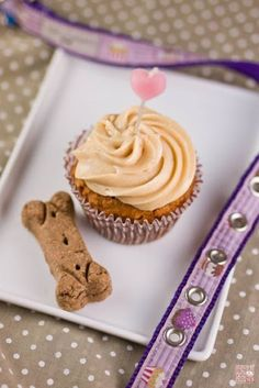 Carrot Peanut Butter Doggie Birthday Cake Recipe on Yummly