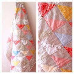Linen Quilt  www.tagfuertag.typepad.com