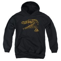 Jurassic Park - Spino Mount Youth Pull-Over Hoodie