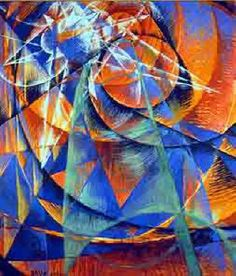 "giacomo balla paintings | ... before the Sun"" futuristic painting by Italian artist Giacomo Balla"