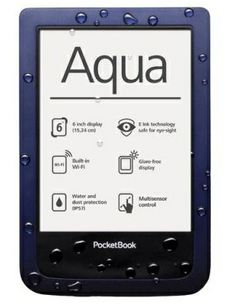 Pocketbook Aqua, waterproof ereader