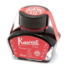 Kaweco Fountain Pen Ink Bottle, Red