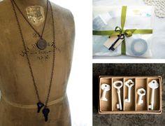 Skeleton Keys are divine.  http://www.etsy.com/shop/novemberroseatelier http://www.designspongeonline.com/2011/02/treasure-hunting-keys.html