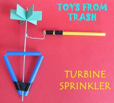 Toys from Trash: Turbine Sprinkler
