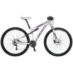 With adjustable geometry and remote control of both front and rear suspension, the Scott Contessa Spark 900 women's full-suspension offers excellent tunability and cross-country performance. Scott Contessa, Full Suspension Mtb, Scott Sports, Cool Bikes, Cross Country, Mountain Biking, Skiing, Cycling, Wheels