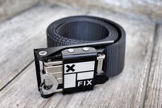 Carry a multitool with you all the time, thanks to this cool belt buckle add-on that packs sets of bits and wrenches for snowboarding, cycling, or skateboarding. The tools store inside the buckle of Fix Manufacturing's rugged All Time Belt.