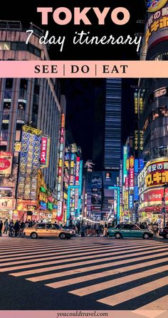 Going to Tokyo for the first time? Find out what the top things to do in Tokyo, what to see and where to eat. A day by day itinerary, with useful tips, bonus secret spot in Tokyo and epic adventures in Japan's capital city. Ready for your 7 day itinerary in Tokyo?