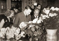 Adolf Hitler with guests at his birthday party at his residence, the Berghof, on April 20, 1943. This holiday changed young Erich's life forever.