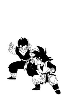 Dbz Manga, Manga Art, Gohan And Goten, Anime Tattoos, Horse Drawings, Z Arts, Manga Pages, Dragon Ball Gt, Reference Images