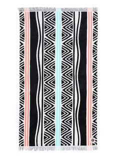 Today, the subject is beach towels, whose increasingly complex graphic patterns offer more ways than ever to stand out on the sand. Beach Pool, Beach Trip, Hawaii Vacation, Beach 2017, What To Sell, Pool Towels, Beach Ready, Stainless Steel Water Bottle, Graphic Patterns