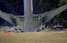 This is how Flight 93 crashed into the ground in PA. 9-11-2001