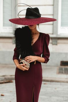 Classy Outfits, Cool Outfits, Modern Vintage Fashion, Stylish Hats, Outfits With Hats, Elegant Outfit, Festival Outfits, Dress To Impress, Vintage Dresses