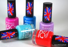 Rimmel London 60 Second Polishes (Another favorite collection) Makeup For Moms, London Look, Blog Pictures, Rimmel London, Makeup Inspiration, Lifestyle Blog, Fashion Beauty, Lipstick, Polish