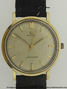 Omega Seamaster Gold on Steel Original Dial Mens Wrist Watch