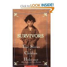 Picture story book- This is a great book for older children to read about the holocaust. It has real facts, real stories of children in the holocaust. Teaches about history and teaches kids to be thankful for what the have and where they live today.