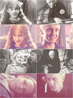 Imagen de dramione, hermione granger, and draco malfoy