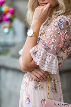 gorgeous embellished and beaded dress
