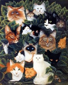 Nowadays, wall poster plays a vital role in home decor. Wall posters can considerably enhance the visual appeal of the entire house. This wall poster depicts the image of cute cats collage picture which looks very adorable and sure to catch every eye towards it. It will be a perfect gift for someone who loves animal. We offer durability and perfect color accuracy which keep long lasting beauty of the product.