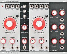 Eurorack Module Complex Oscillator from Verbos Electronics