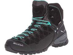 separation shoes 08204 4de7f SALEWA Alp Trainer Mid GTX(r) Women s Shoes Black Out Agata. Scarpe Da  TrekkingStivali NeriStivali ...