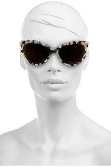Prism, Portofino cat eye-frame matte-acetate sunglasses
