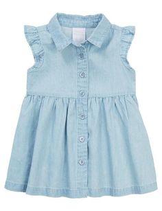Teeny Weeny Chambray Dress product photo