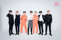[BTS FESTA 2016] BTS 3rd Anniversary 가족사진 'Real Family Picture' ©Facebook방탄소년단  soo basically Jk, RM - The nerds Jh, SG - The dorks V, JM - The bad boys Jin - Mama  ㅋㅋㅋㅋ