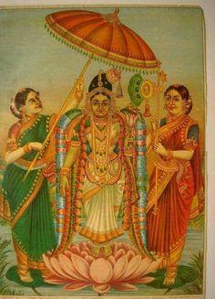Mangalamaya darshan of Shree Goda devi, popularly known as Andal on first day of Dhanurmasa