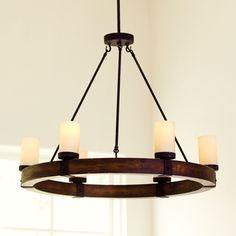 Arturo 6-Light Round Chandelier ceiling light