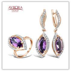 Шикарные комплекты из коллекции Avrora Gold вы можете заказать прямо сейчас у нас на сайте: http://www.avroragold.com  #avroragold #аврораголд #девушка #украшения #золото #серебро