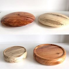 Four new bases made from spalted beech and yew wood. #wiretreesinspire #wire #tree #sculpture #unique #handmade #art #craft #wood #gift #woodland #forest #nature #artmagazine #wireart #wireartist #bonsai #sculptor #original #natural #bonsaitree #wire...