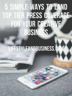 Struggling to get PR coverage for your creative business? Wonder why your competitors are leaving you in the dust? Learn how to get top press coverage in magazines, newspapers, television, and online with our simple tips.
