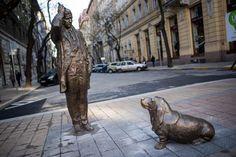 Columbo szobor Budapesten
