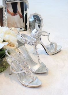silver heels for prom | Formal Prom Shoes, Rhinestone Shoes, Prom Heels, Promshoe-200-1
