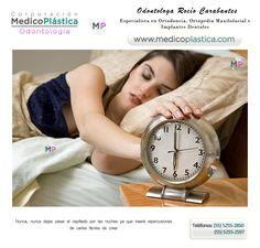 No cepillarse los dientes antes de dormir, facilita la aparición de caries.