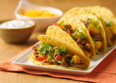 Give a Mexican standard a Caribbean edge when you fill ready-made taco shells with slow-cooked pork, pineapple, and lime along with traditional fillings. Shop your ingredients at Publix and click the pin to get the full recipe at ReadyPlanSave.com!