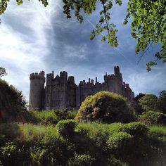 Arundel Castle in England this castle belonged to my ancester's