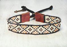 Boho - Boho telar pulsera - abalorios pulsera - pulsera de semillas del grano - pulsera ajustable - joyas de perlas - regalos para ella - bajo 25