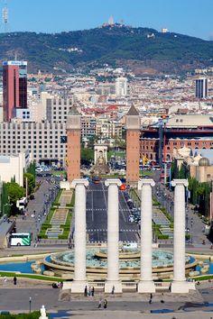 Plaza de Espana, Barcelona   Spain