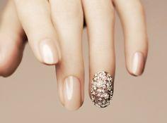Manicura de Novia // Wedding Bridal nails // Bridal manicure