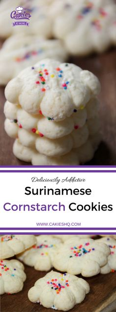 Making your own Surinamese Cornstarch Cookies (Cornflour Cookies) really isn't that hard and it's a fun as well. | Recipe | Gluten Free