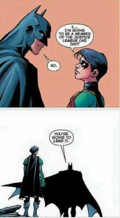 Batman!! You are the best ❤