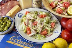 Columbia Restaurant - 1905 Salad and other recipes!