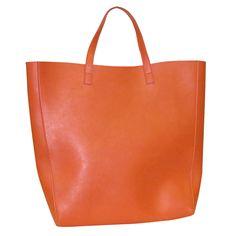 Orange, Simplicity-shopper-tote