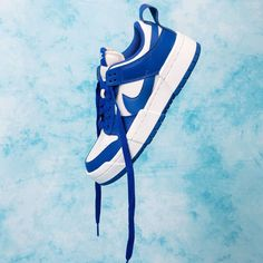 Release Date : September 4, 2020 Nike Women's Dunk Low Disrupt White / Game Royal Credit : Naked — #nike #dunk #sneakerhead #sneakersaddict #sneakers #kicks #footwear #shoes #fashion #style Latest Sneakers, Sneakers Fashion, Fashion Shoes, Women's Sneakers, Custom Sneakers, Custom Shoes, Dunk Low, Nike Dunks, Sock Shoes